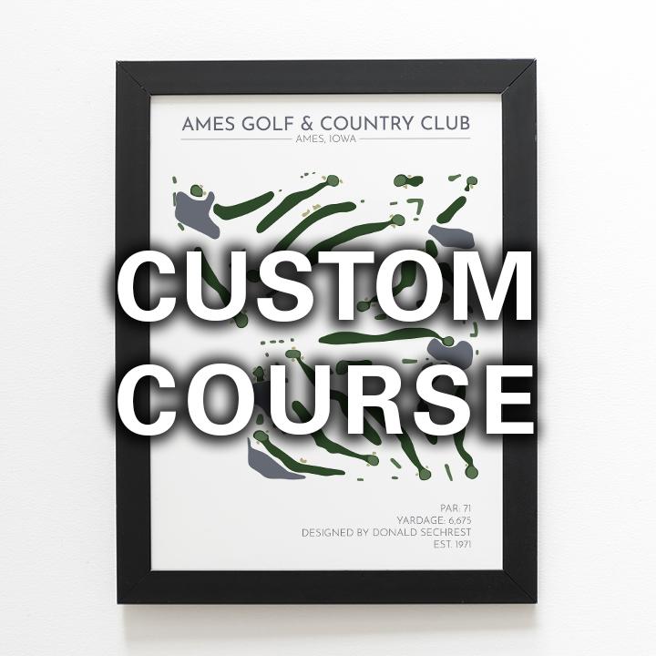 Custom Golf Course » Pure Golf Prints